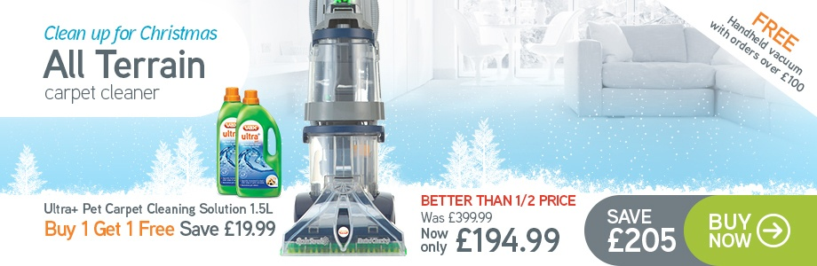 VAX All Terrain Carpet Cleaner - £194.99 - RRP £399.99