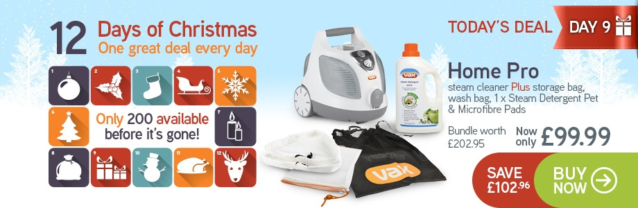 VAX S6S Steam Cleaner Bundle